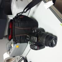 LF 1971 fotocamera con borsa