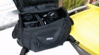 LF 2403 photocamera con borsa