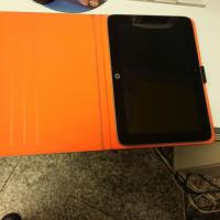 LF 1660 tablet with grey and orange cover