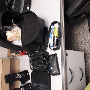 TS 2554 black backpack