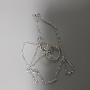 LF 3316 two rings and one necklace